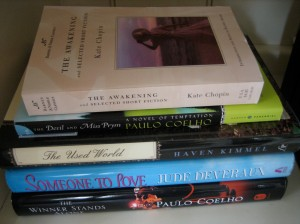 "<em>The Awakening</em> at the top of my own ""to read"" stack"