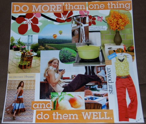 Dreamboard collage